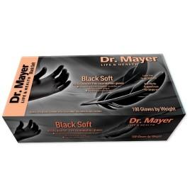 Coperta manusi-dr-mayer-nitril-negre-soft-100-xs